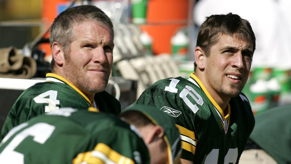 Aaron Rodgers has 'been on forefront' of welcoming back Brett Favre