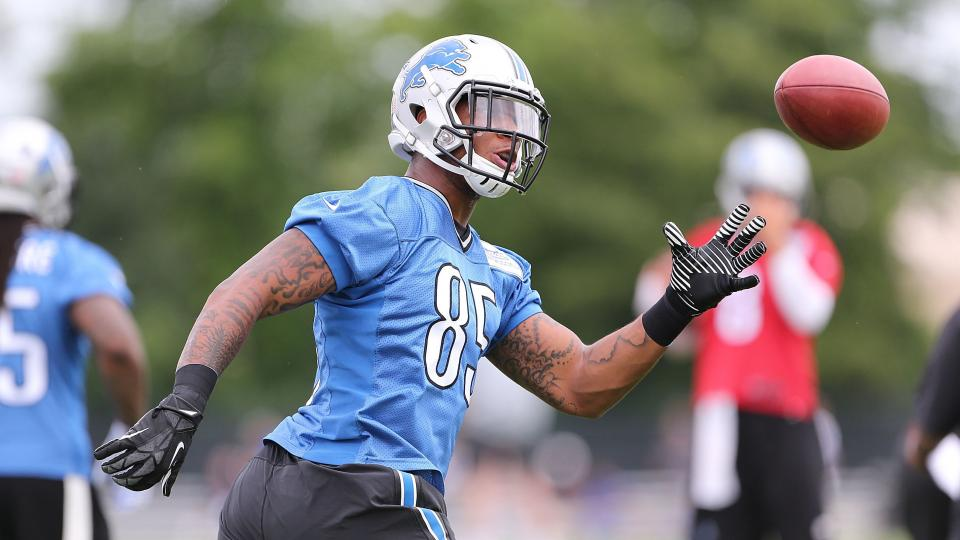 Report: Lions rookie tight end Eric Ebron may miss first preseason game