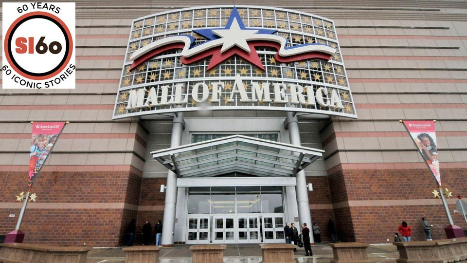 The colossal Mall of America had everything a sports fan could want -- except for the games, of course.