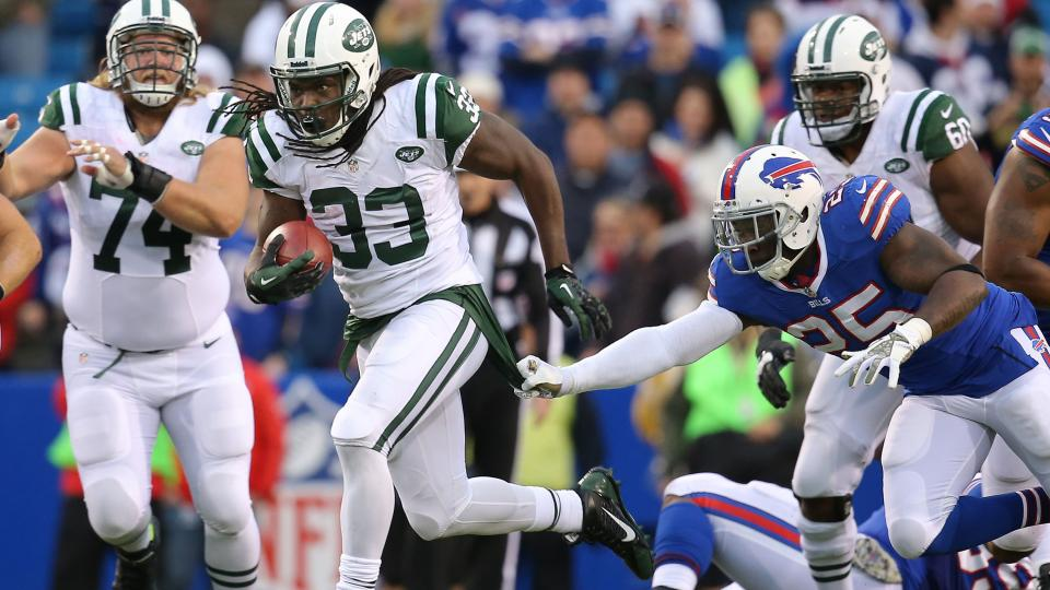 New York Jets release depth chart: No starting running back