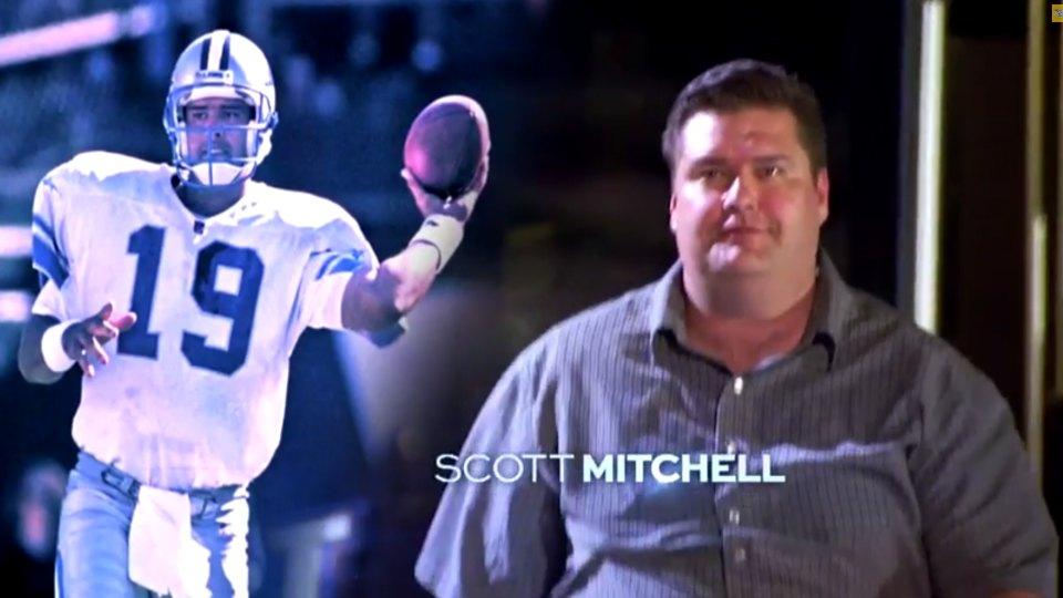 Former NFL players Scott Mitchell, Damien Woody will appear on