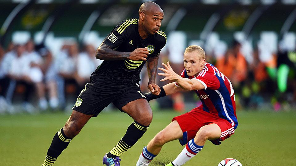 With Thierry Henry's career winding down, he proved yet again Wednesday night why he's one of the best players of his generation.