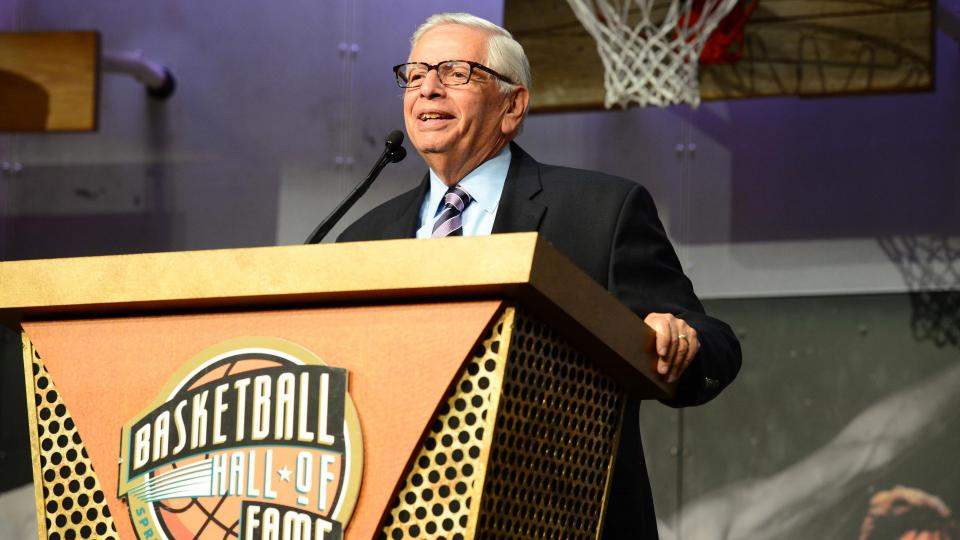 David Stern: Clippers' sale 'an exclamation point' on NBA's health
