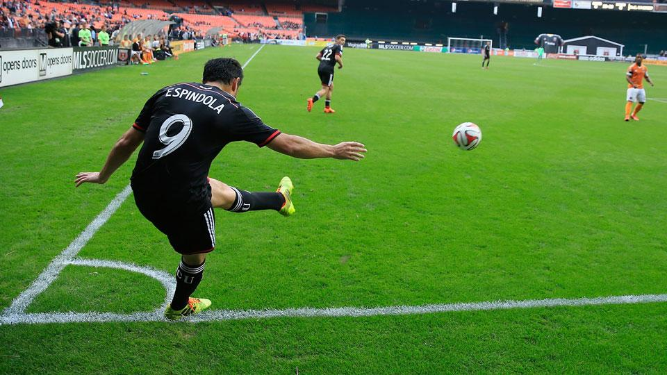 Fabian Espindola leads United in goals and assists