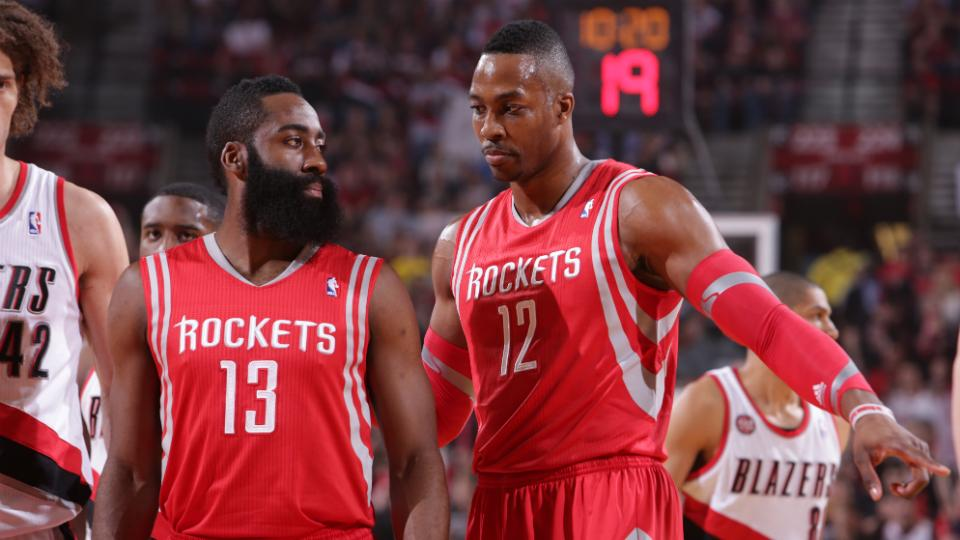 Rockets' Motiejunas misquoted about Harden, Howard not eating with team