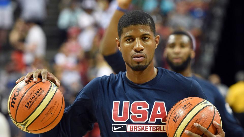 Team USA promises injured Paul George a spot on 2016 Olympic team