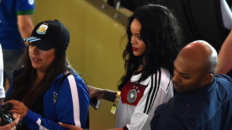 Is Rihanna possibly going to buy Chivas USA?