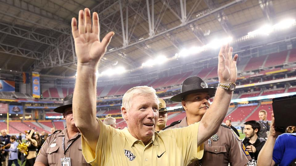 Report: UCF's George O'Leary could step down later this month