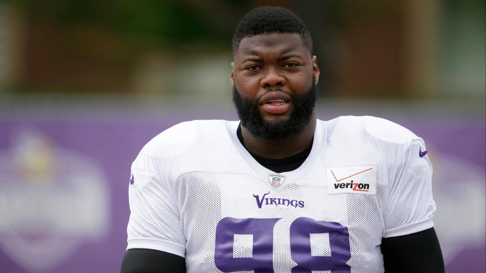 Vikings' Linval Joseph returns to practice for first time since shooting