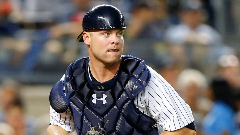 Yankees place catcher Brian McCann on seven-day concussion list