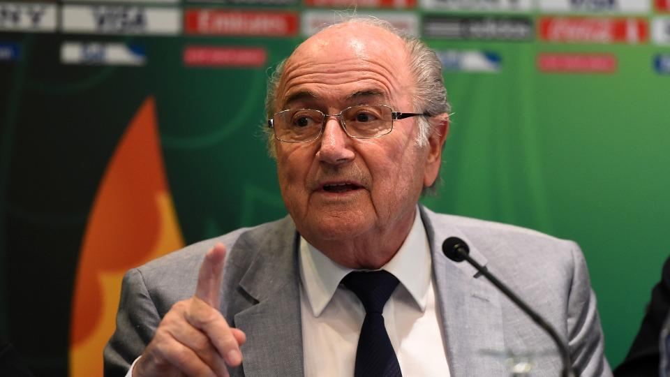FIFA president Sepp Blatter challenges critics to run against him