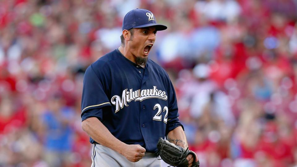Report: Matt Garza won't come off DL when eligible, says Brewers manager