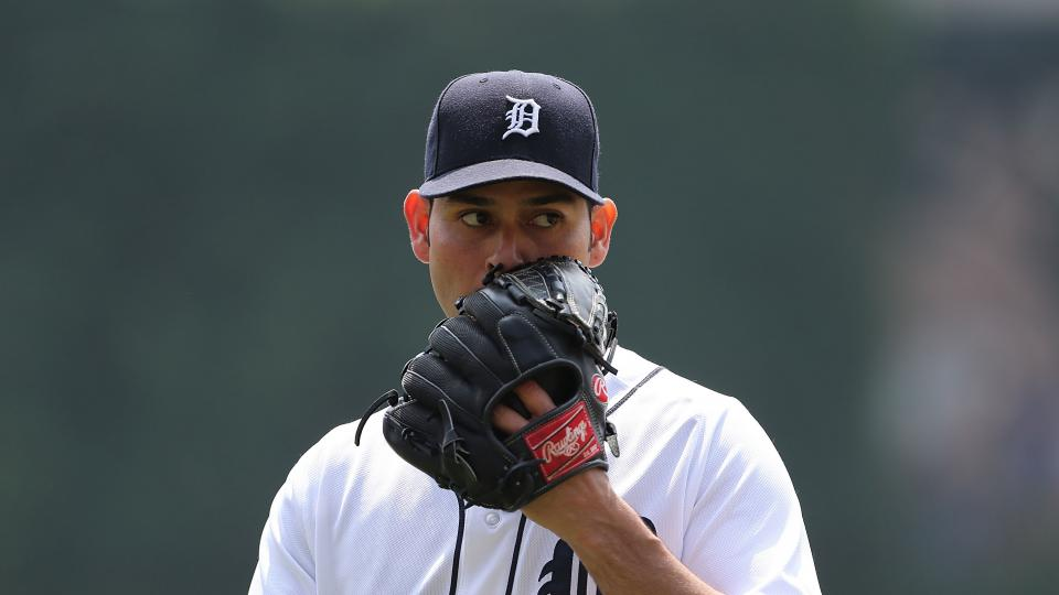 Tigers pitcher Anibal Sanchez sent to 15-day DL with strained pectoral