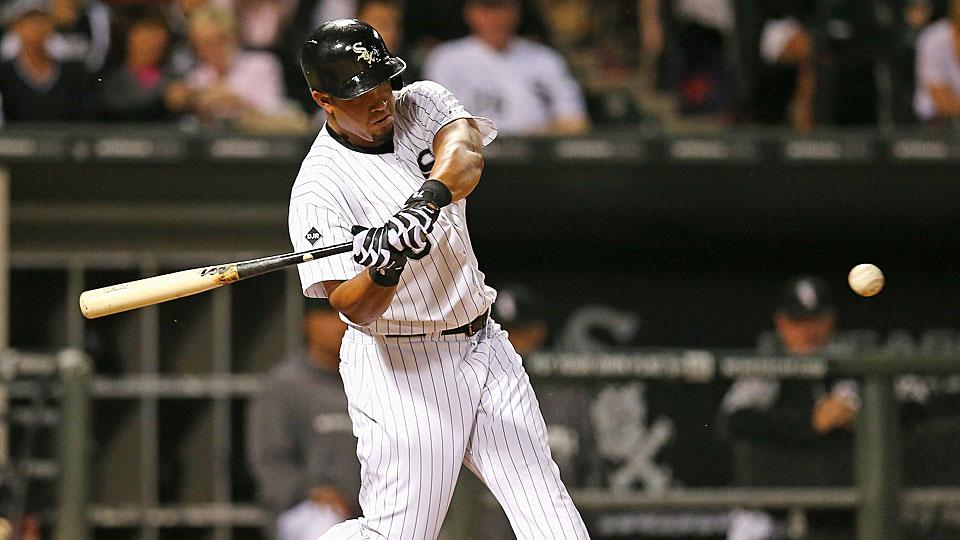 The White Sox' Jose Abreu went 2-for-4 with a double on Saturday and should improve on that on Sunday vs. Erasmo Ramirez.