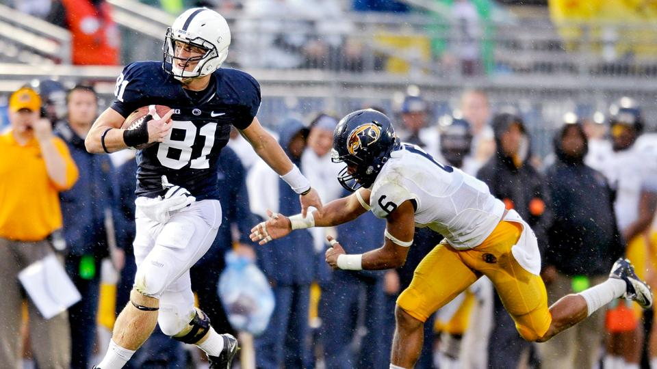 Report: Penn State TE Adam Breneman likely out for season