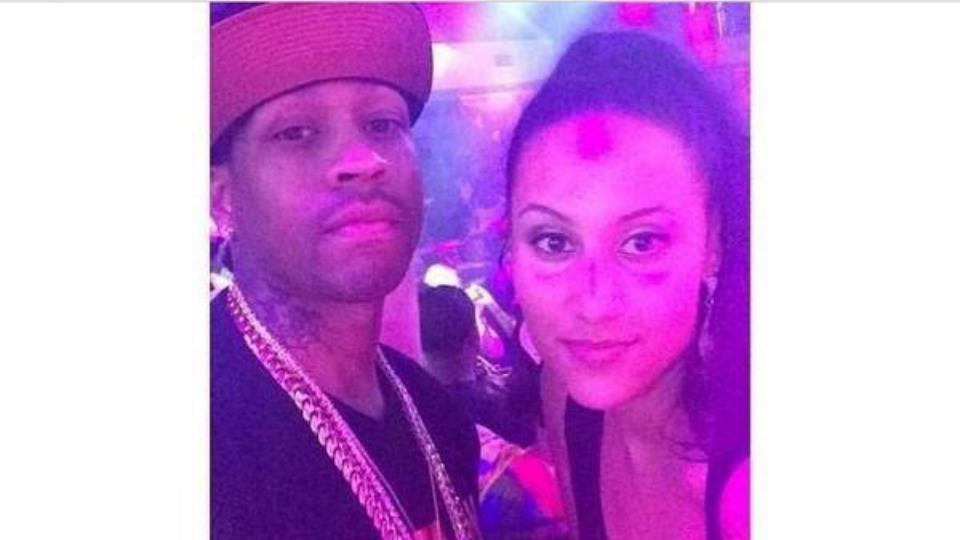 Woman instagrams a photo of herself and Allen Iverson, has no idea who Allen Iverson is