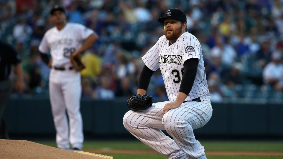 Rockies' Brett Anderson likely done for season with bulging disc