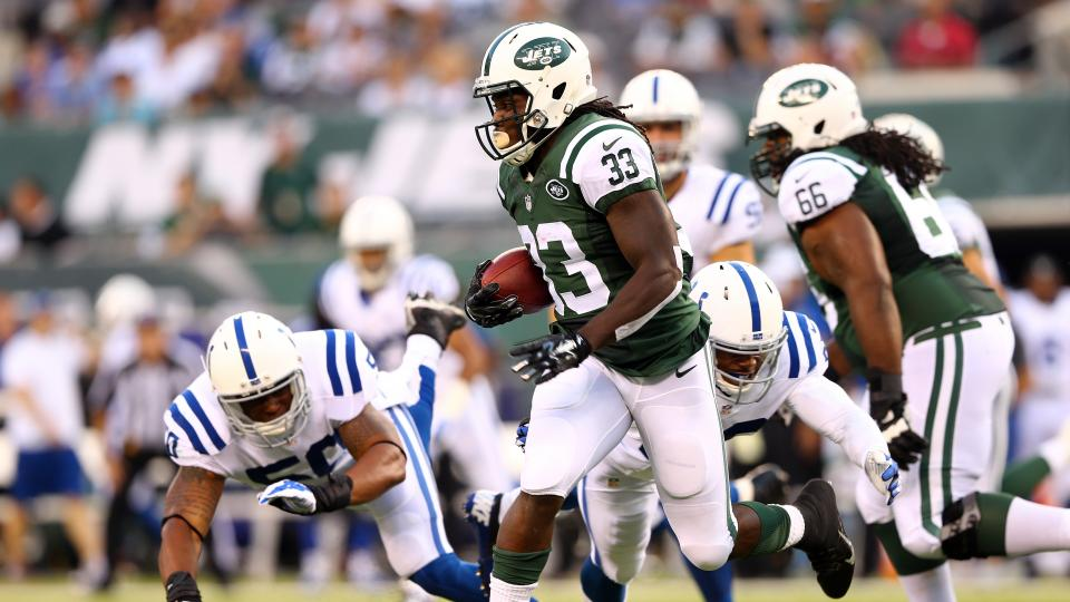 New York Jets running back Chris Ivory unsure of status after rib injury