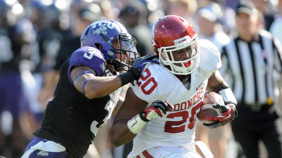 Oklahoma linebacker Frank Shannon suspended for one year