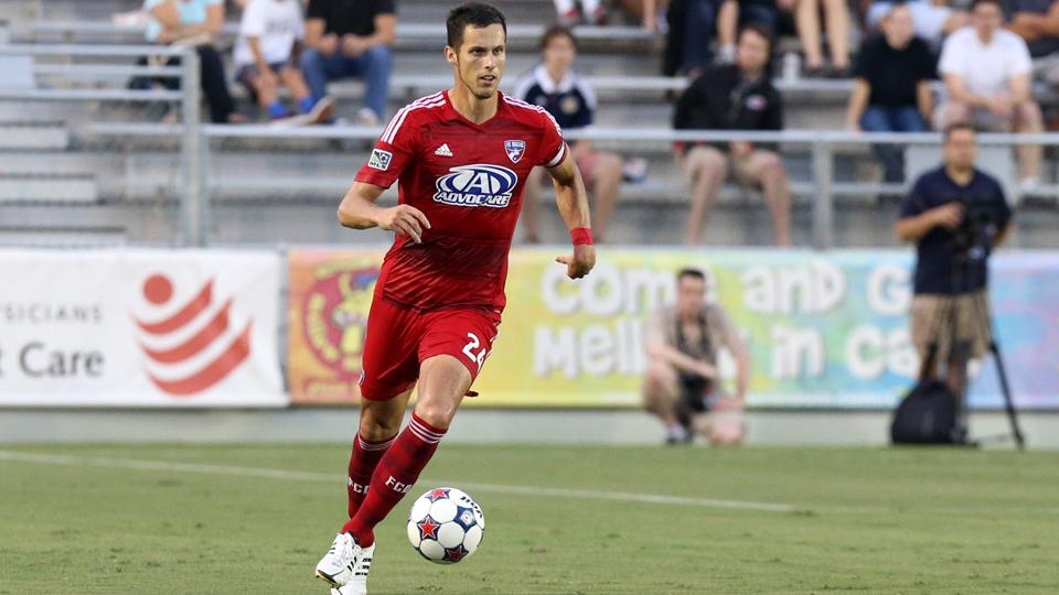 FC Dallas' Matt Hedges scored a goal and continued his stout defensive work in helping the club extend its unbeaten streak to eight games.