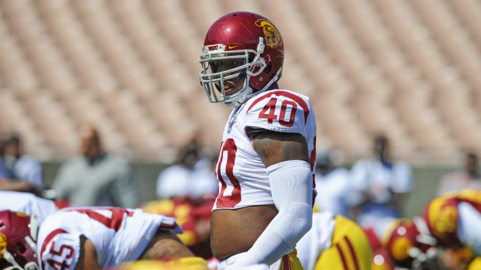 USC linebacker Jabari Ruffin out for season after tearing knee ligament