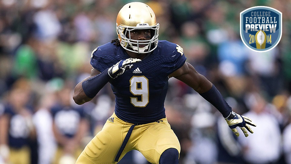 Notre Dame's Jaylon Smith seeking every answer in pursuit of greatness