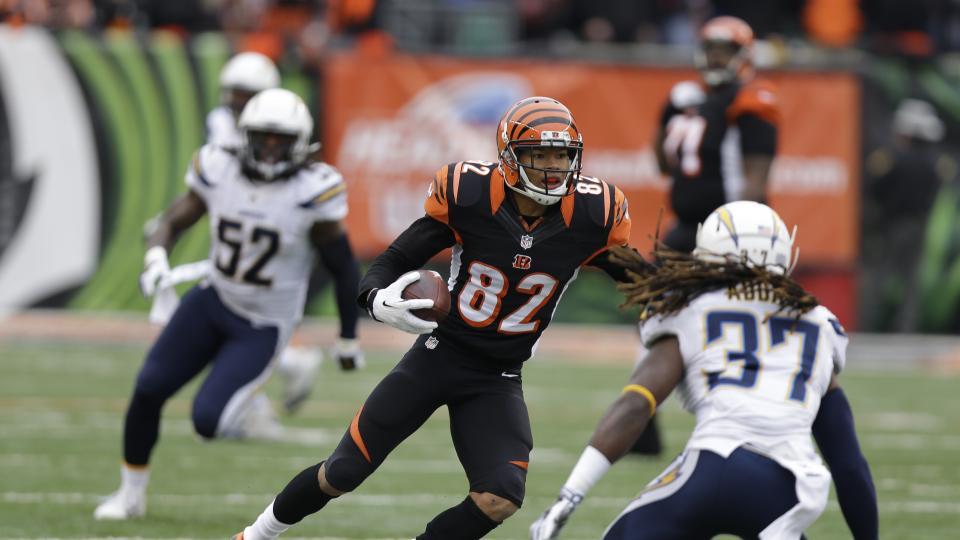 Report: Bengals receiver Marvin Jones breaks foot, is out 'a few weeks'