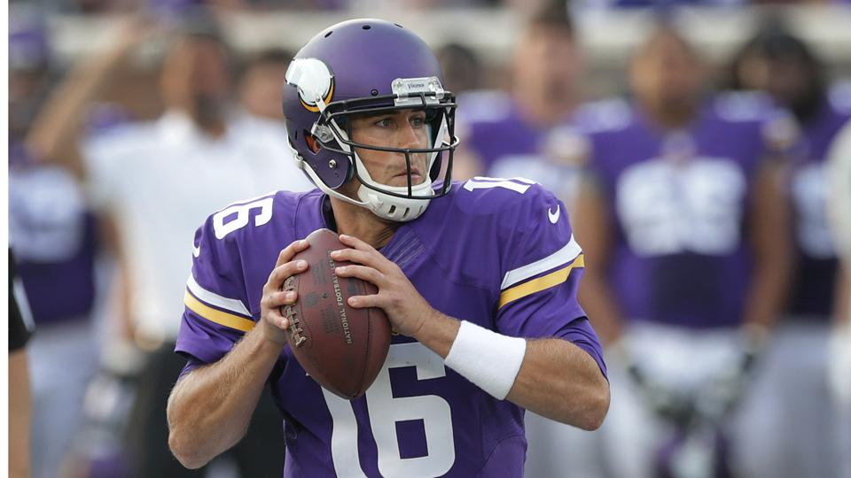 Vikings quarterback Matt Cassel to start team's second preseason game