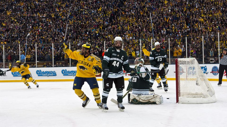 Michigan, Michigan State to play outdoor hockey game at Soldier Field