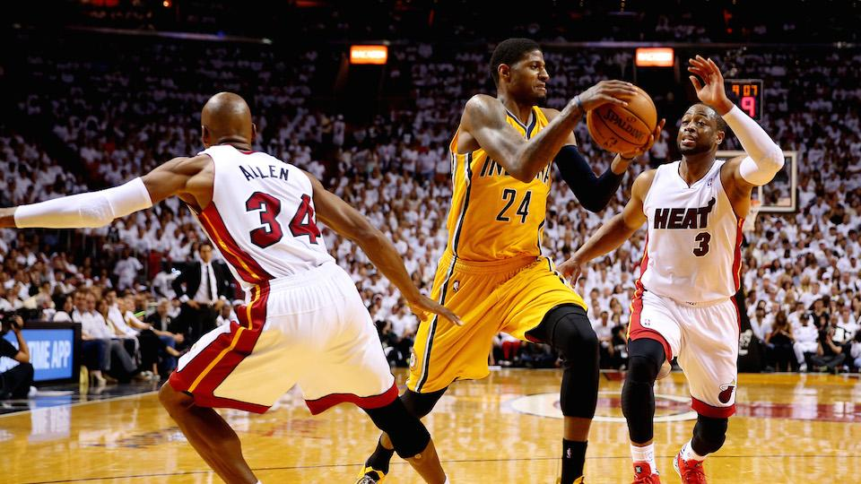 Pacers' Paul George to change jersey number, become 'PG-13'