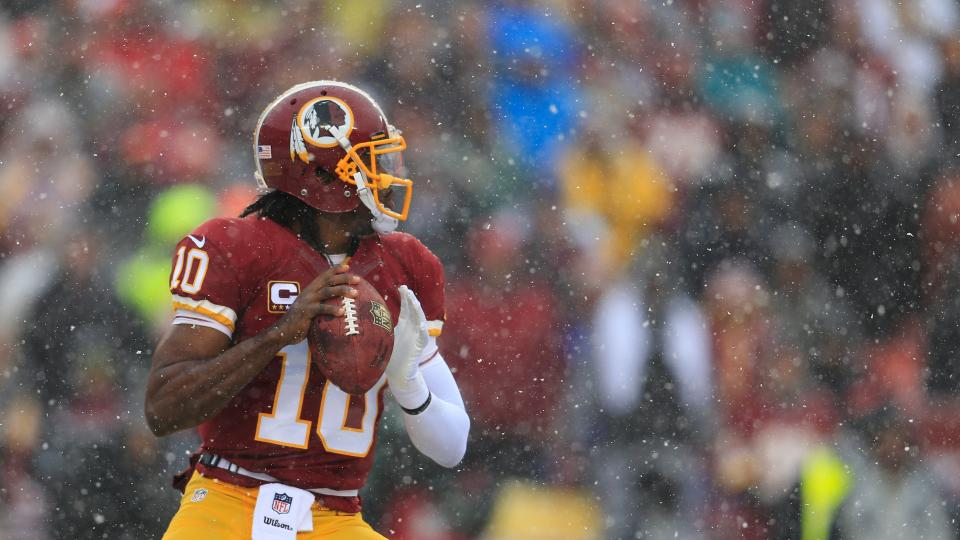 Report: Jay Gruden sees 'a lot of good and some bad' from RGIII in camp