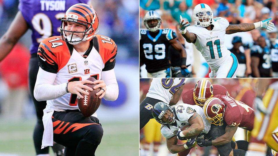 Andy Dalton, Mike Wallace headline our All-Overrated Offense