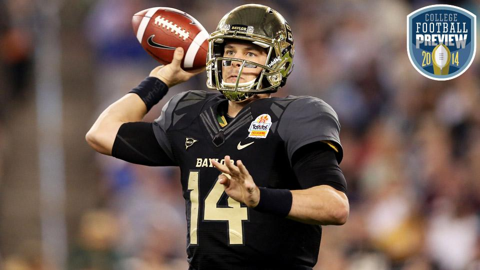 Top 25 college football team preview: No. 10 Baylor Bears