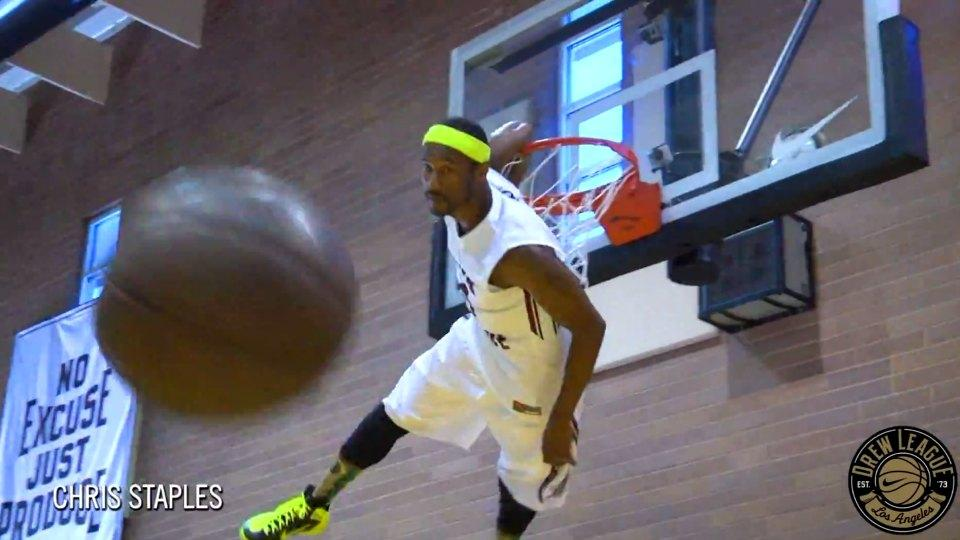 The Drew League dunk contest is the most fun dunk contest