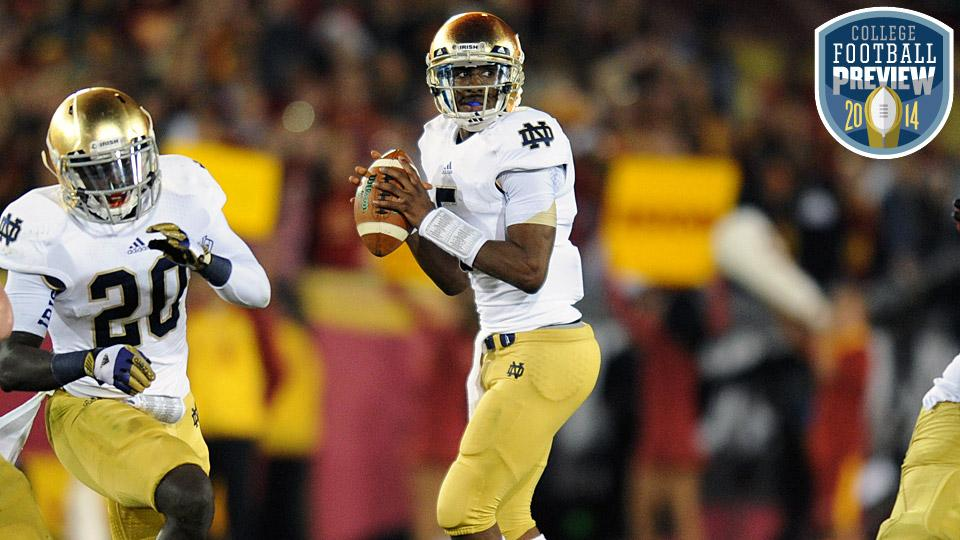 Top 25 college football team preview: No. 13 Notre Dame Fighting Irish