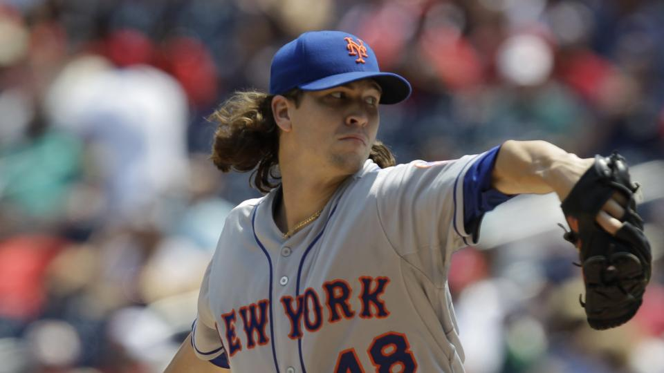 Mets place pitcher Jacob deGrom on DL with rotator cuff tendinitis