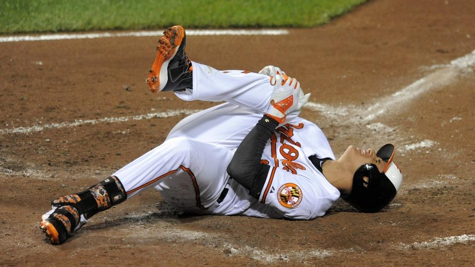 Orioles 3B Manny Machado has right knee ligament strain