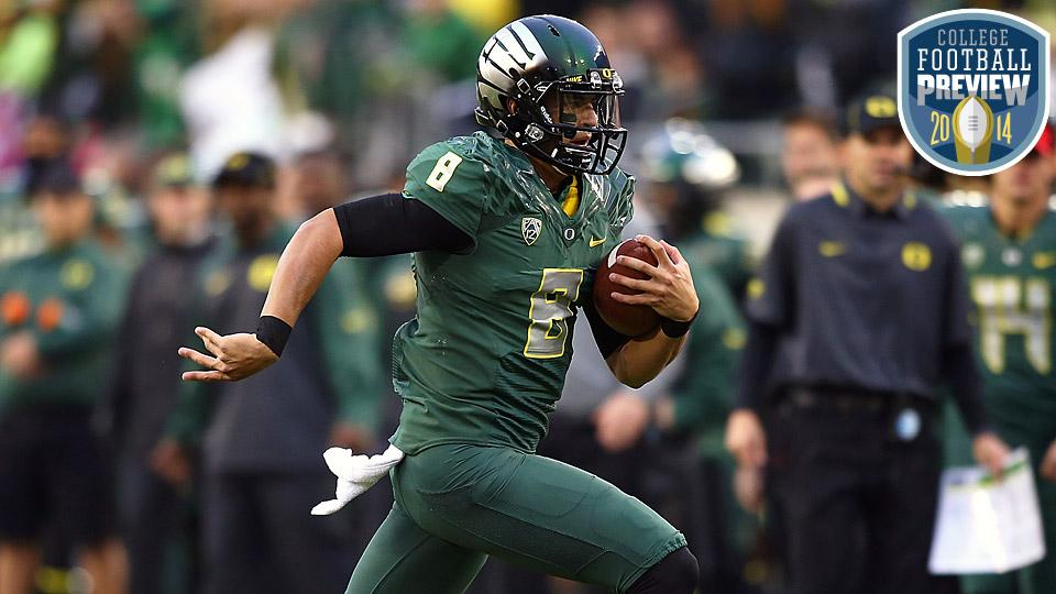 Top 25 college football team preview: No. 8 Oregon Ducks