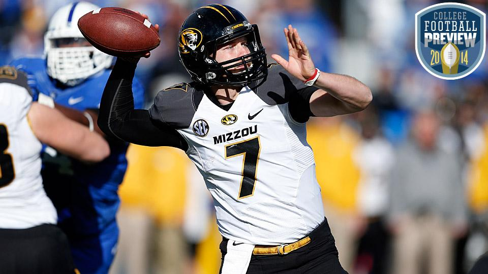 Top 25 college football team preview: No. 22 Missouri Tigers