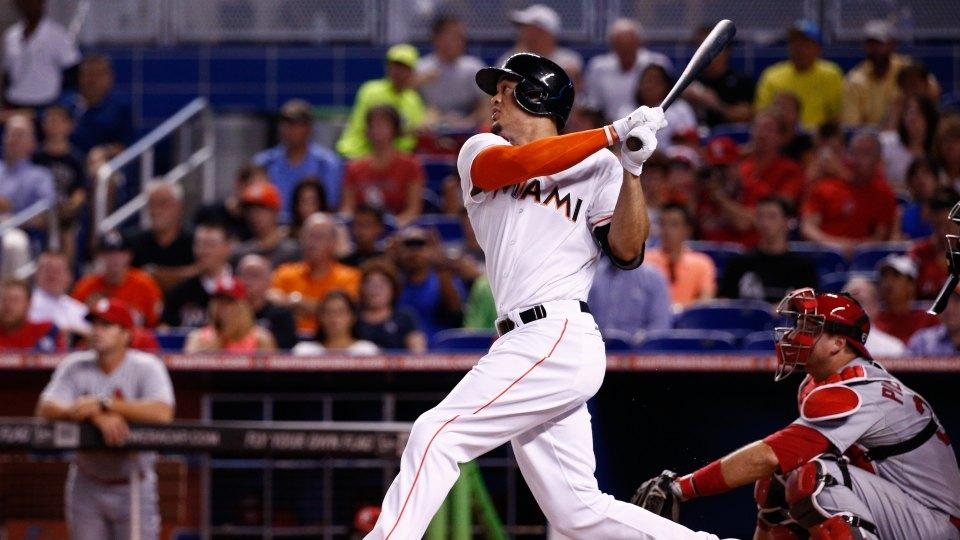 Marlins' Giancarlo Stanton annihilates a baseball, wins fans free beer