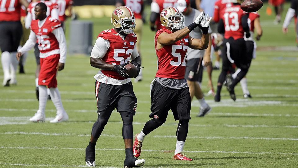 Patrick Willis confident in new 49ers running mates as Bowman recovers