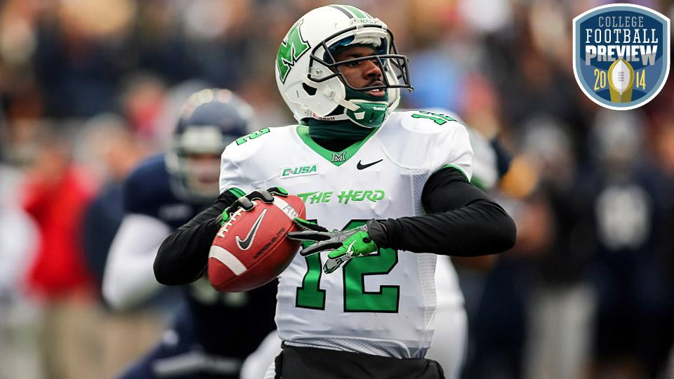 Top 25 college football team preview: No. 25 Marshall Thundering Herd