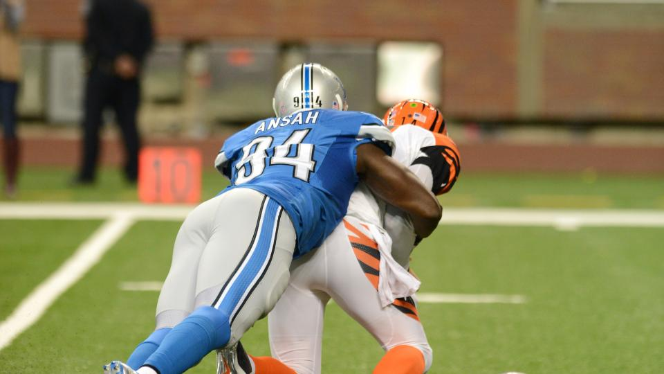 Detroit Lions activate 2013 first-round pick Ziggy Ansah off PUP list