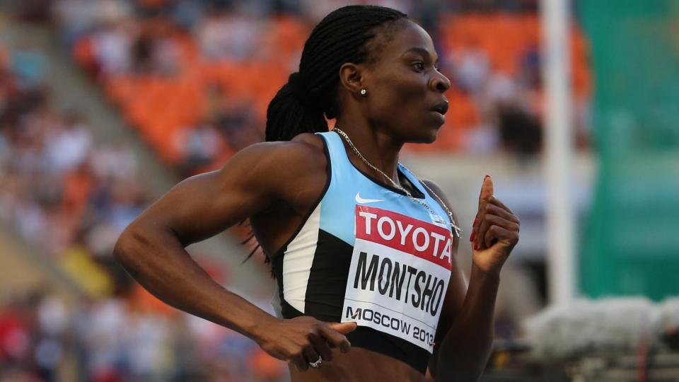 Former world champion runner Amantle Montsho fails drug test