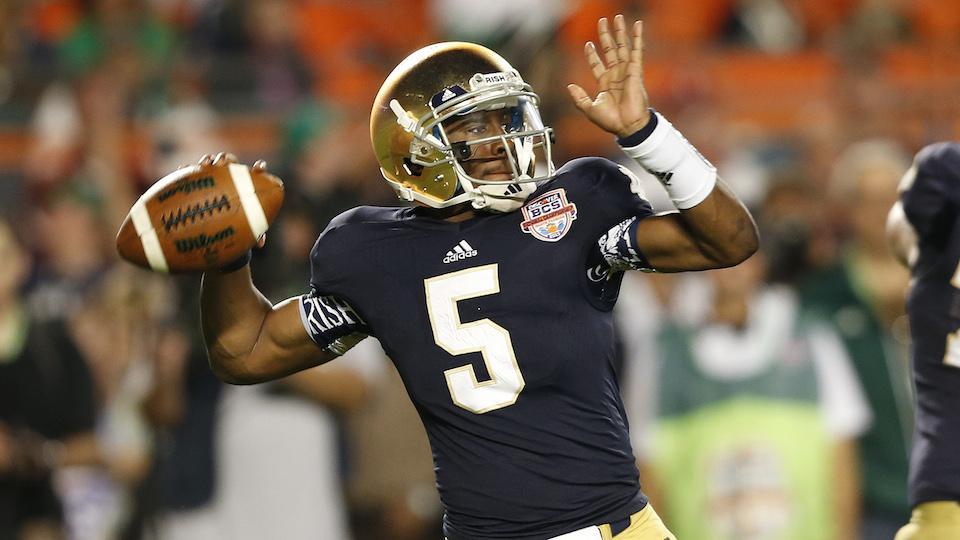Notre Dame QB Everett Golson named starter heading into 2014 season
