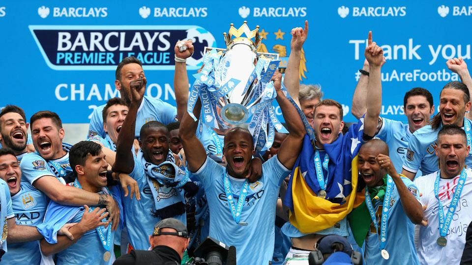 Manchester City won its second Premier League title in three seasons last year.