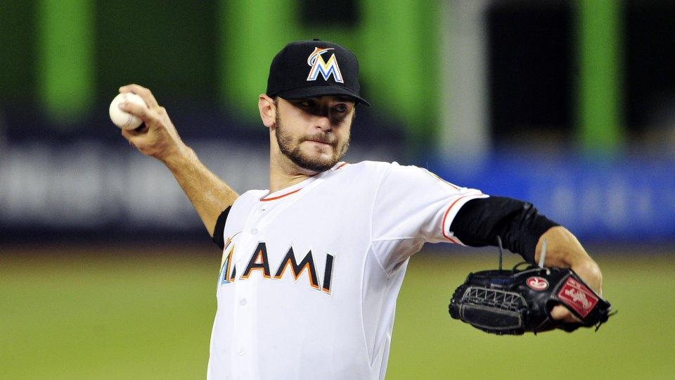 Marlins pitcher Jarred Cosart was not allowed to swing during his at bats