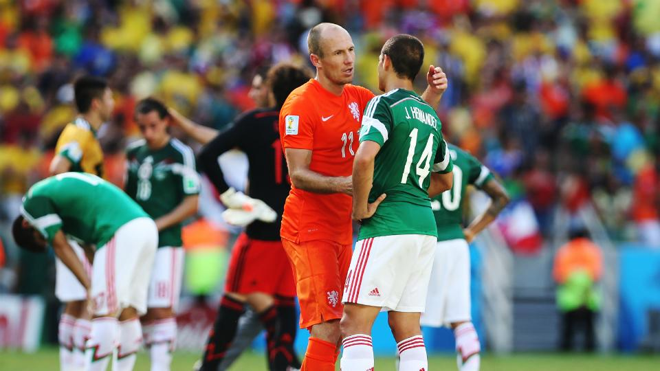 Netherlands to host Mexico in World Cup Round of 16 rematch