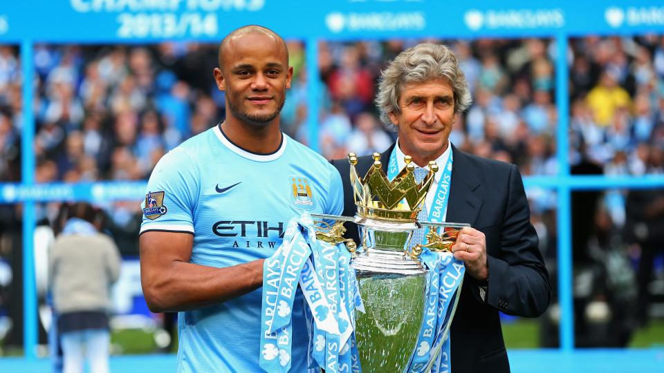 Manchester City signs defender Vincent Kompany to five-year deal