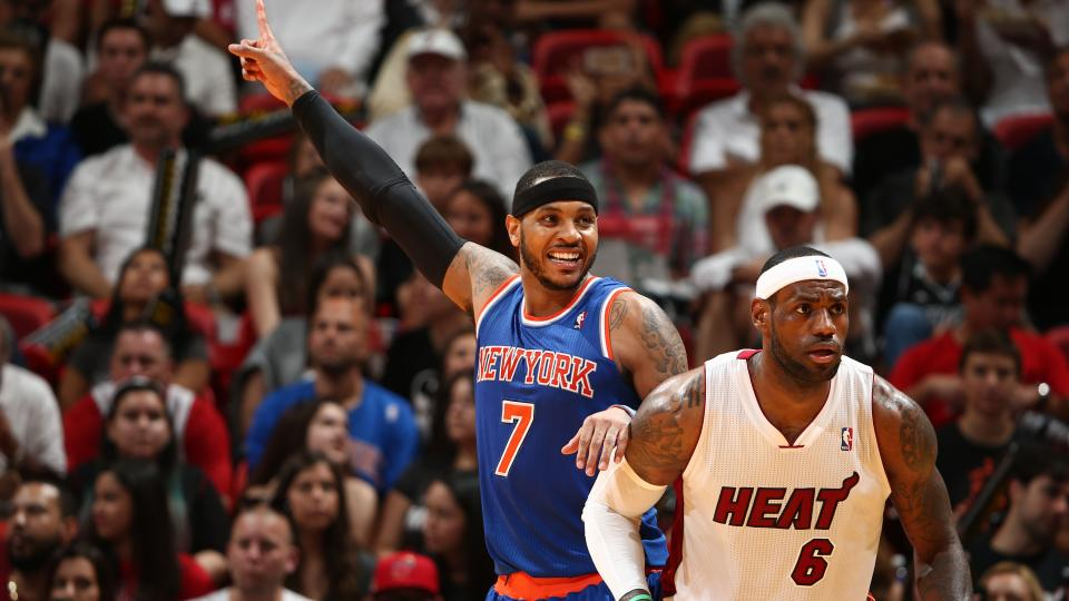 Report: Carmelo Anthony cuts carbs to get in shape for triangle offense